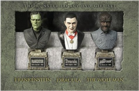 The Monster Legacy Gift Set (Frankenstein / Dracula / The Wolf Man) by Universal Studios