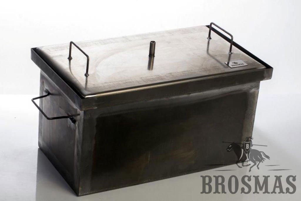 Smoker Smokehouse Rectangular Steel Garden home BBQ