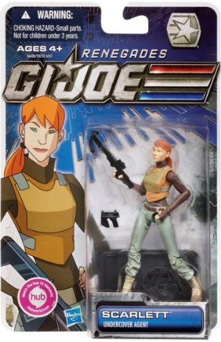 GI Joe Renegades 3.75 inch Scarlett - Undercover Agent Action Figure -