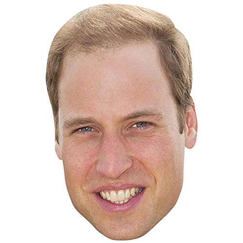 (Prince William Celebrity Mask, Card Face and Fancy Dress Mask)