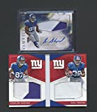 Lot of (2) Sterling Shepard RC Rookie Jersey AUTO + Perkins Booklet Panini - Panini Certified - Football Slabbed Autographed Rookie Cards