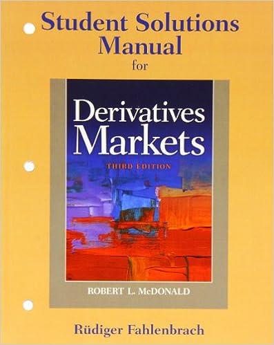 mcdonald derivatives market 2nd edition solutions