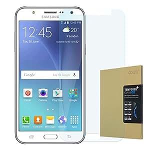 doupi - Protector de pantalla de vidrio templado de 9H, alta definición para Samsung Galaxy J5