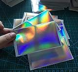 Blank Hologram Eggshell Stickers Graffiti Supplier