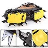 Fauge 18 Teeth Crampons Traction Cleats Spikes Snow