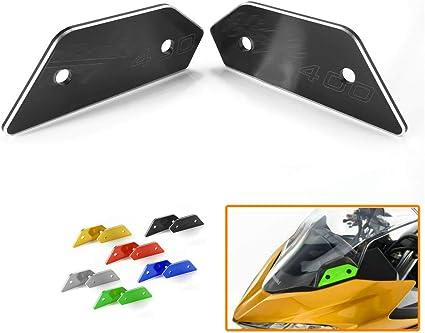 Heinmo Extensores de tapa de espejo retrovisor para Kawasaki Ninja 400 2018