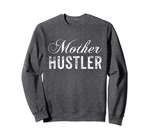 Unisex Mother Hustler Sweatshirt Large Dark - Hustler Sweatshirt