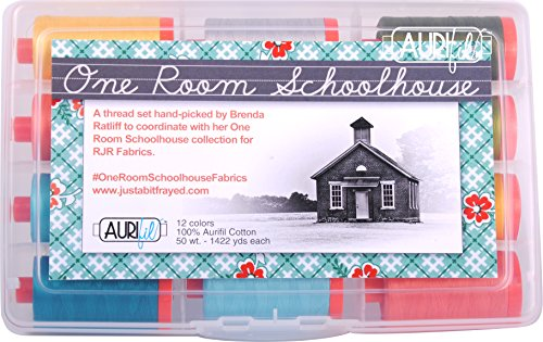 Aurifil BR50ORS12 One Room Schoolhouse Collection by Brenda Ratliff