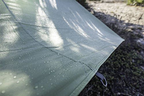 Eclypse II Rainfly– Waterproof Tarp Tent, Hammock Rain Tarp – Instant Shelter For Camping – Light and Strong -8 D Rings – Self Lock Lines – 14 Foot Guideline