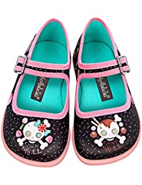 Mini Chocolaticas Candy Skull Girls Mary Jane Flat