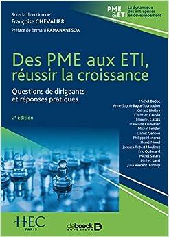 Des PME aux ETI : réussir la croissance : Questions de dirigeants et réponses pratiques