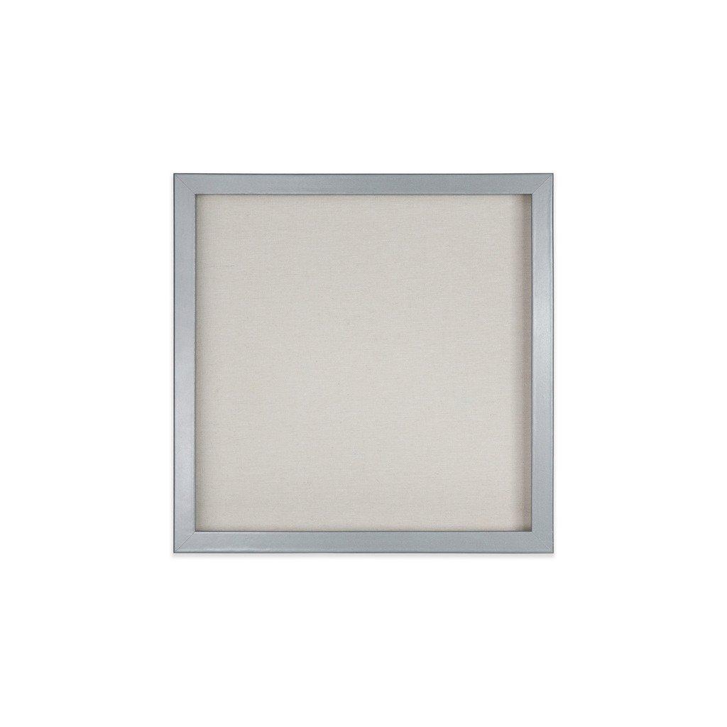 EDGEWOOD Parkwood Gray 12x12 Shadow Box Frame for Memorabilia, Scrapbooking, Keepsake