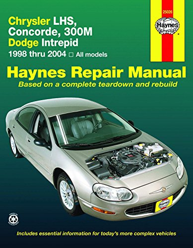 Chrysler Import - Chrysler LHS,Concorde,300M,Dodge Intrepid, 1998-2004 (Haynes Repair Manual)