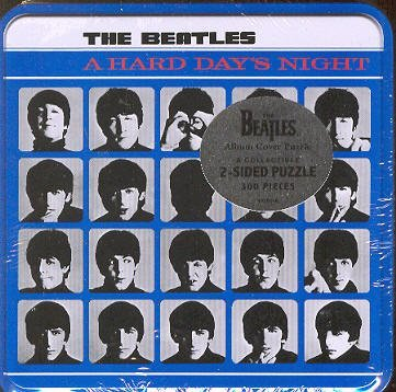 The Beatles A Hard Day's Night Collectible 2 Sided Album Cover Puzzle