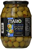 Mario Camacho Foods Manzanilla Spanish Olives, 21 Ounce (Pack of 6)