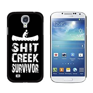 Shit Creek Survivor - Snap On Hard Protective Case for Samsung Galaxy S4 - Black by ruishername