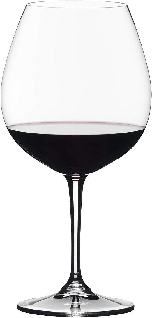 capacit/à 730 ml Set di 4 calici da Vino Riedel Vivant Pinot Noir