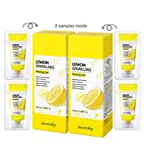 SECRET KEY Lemon Sparkling Peeling Gel 4.05 fl.0z.(120ml) 2pcs + 4 mini gel