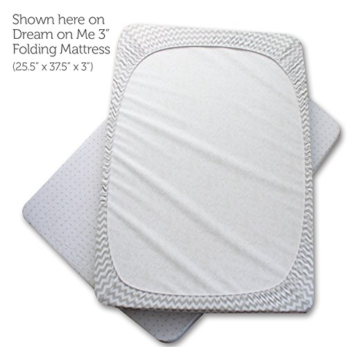 Pack N Play Playard Sheet Set 2 Pack Fitted Jersey Knit