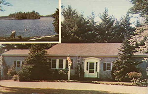 Pinewood Lodge Trailer Park Plymouth, Massachusetts Original Vintage Postcard