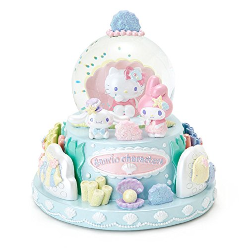 Sanrio Sanrio Characters snow globe PARTY UNDER THE SEA From Japan New