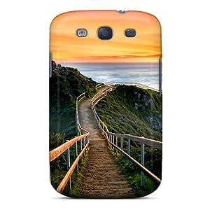 Galaxy S3 Case Cover Skin : Premium High Quality Sunset In California Case