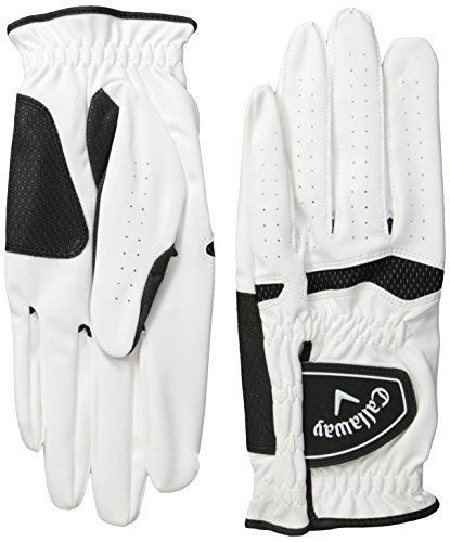 Callaway Mens Xtreme 365 Golf Gloves (Pack of 2), Medium/Large, Left Hand