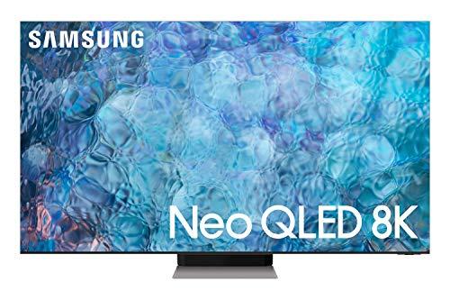 Samsung 85 Inches QN900A Neo QLED 8K Smart TV (2021), Silver, QA85QN900AUXZN
