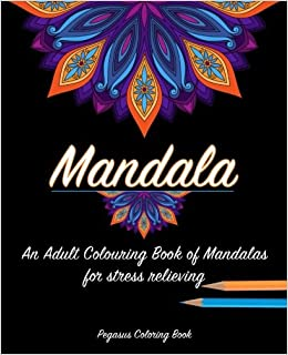 Adult Colouring Books Mandala For A Stress Relieving Experience Adults Zen Book
