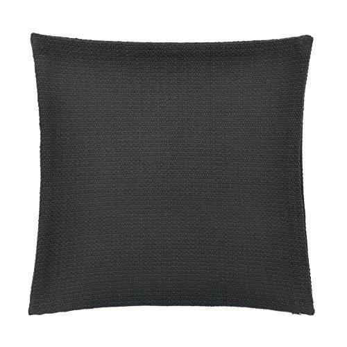 FlatIron Textured Charcoal Basketweave 18