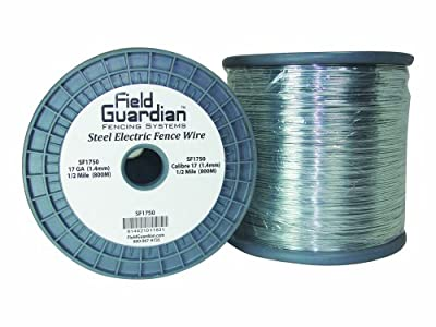 Field Guardian 17-Guage Galvanized Steel Wire, 1/2-Mile