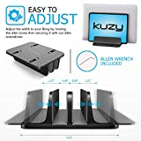 Kuzy Vertical Laptop Stand with Double Adjustable