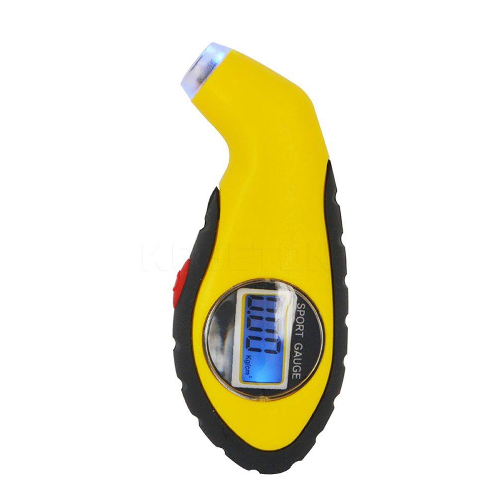 LCD Digital Tire Pressure Gauge Auto Car Motorcycle Air Pressure Tyre Tester Tool, 0-100 Psi