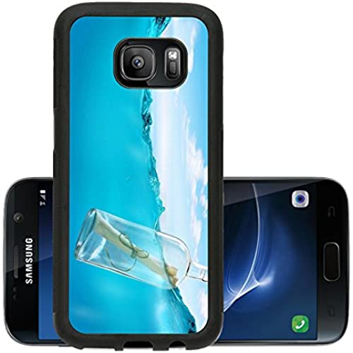 Liili Premium Samsung Galaxy S7 Aluminum Snap Case Bottle with a message IMAGE ID 14184055 Sales