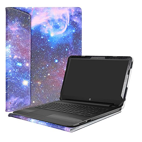 Alapmk Protective Case Cover For 15.6' HP Notebook 15 15-bsXXX (Such as 15-BS015DX)/15-bwXXX (Such as 15-BW011DX)/HP 250 G6/HP 255 G6/HP 256 G6 Laptop(Not fit 15-acXXX/15-ayXXX/15-daXXX),Galaxy