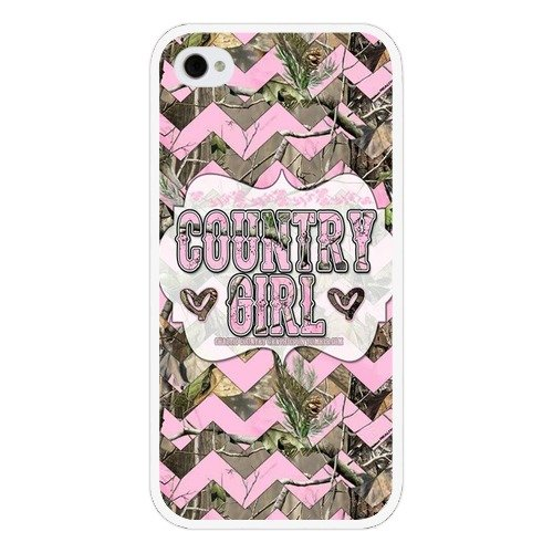 iPhone 4 / 4s Case, Monika Protective Country Girl Plastic iPhone 4 / 4s Case