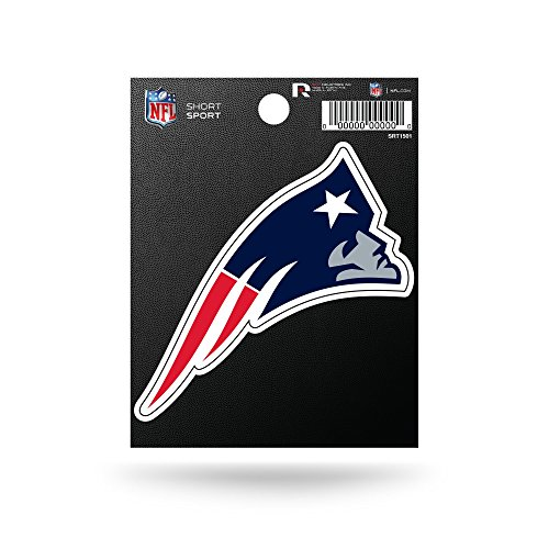 (NFL New England Patriots Die Cut Team Logo Short Sport)