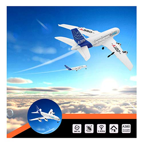 Sallymonday RTF RC Airplane with Safe Technology 360° Flip | WLTOYS A120-A380 2.4GHz 510mm | Powerful Motor Ultra Stable Easy Control for Beginners 14+ Years Old Kids Adult