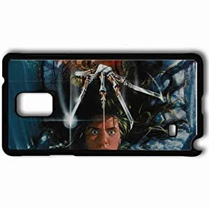 Personalized Samsung Note 4 Cell phone Case/Cover Skin A Nightmare On Elm Street Black
