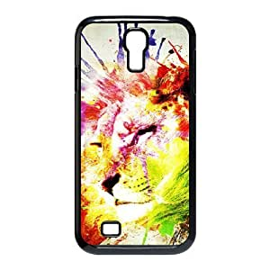 Lion Use Your Own Image Phone Case for SamSung Galaxy S4 I9500,customized case cover ygtg540398