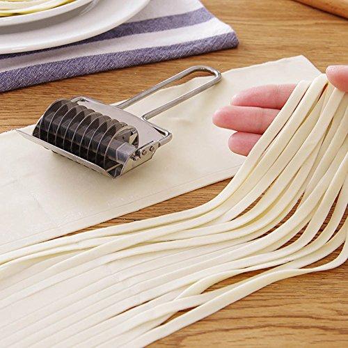Fiesta Stainless Steel DIY Manual Noodle Making Machine Pressing Pasta Machine Multifunction Rolling Ginger Garlic Grater Food Mills