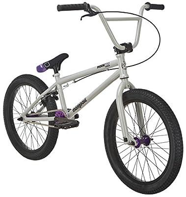 "Mongoose Mode 720 20"" Freestyle Bicycle, Grey"