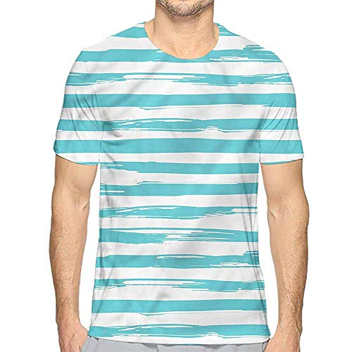 bybyhome t Shirt Printer Striped,Horizontal Brushstrokes Junior t Shirt - Juniors T-shirt Brushstrokes