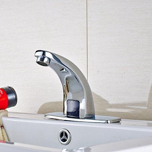 cheap Senlesen Deck Mount Solid Brass Auto Sensor Bathroom Sink ...