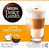 NESCAFÉ Dolce Gusto Coffee Capsules – Latte Macchiato – 48 Single Serve Pods, (Makes 24 Specialty Cups) 48 Count