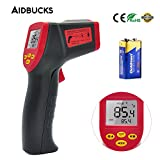 Infrared Thermometer, Aidbucks A530 Non-contact Digital Thermometer Temperature Gun Laser Point -32℃ to 530℃