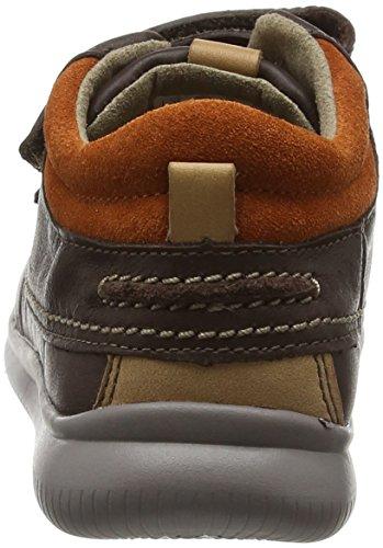 Clarks Jungen Cloudtuktu Inf Stiefel Braun (Brown Leather)