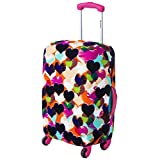 Fashion Heart Suitcase Cover Decor Travel Luggage Gear