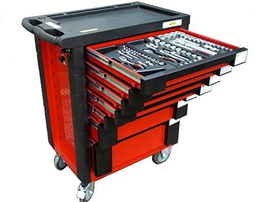 Carro de taller «Bensontools» – Carro de herramientas con 542 piezas, 7 cajones con rodamiento, 1 unidad, XL, 6333.: Amazon.es: Bricolaje y herramientas