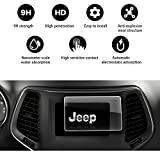 2019 Jeep Cherokee Uconnect 7 inch 5R Angle Anti-Explosion Car Navigation Screen Toughened Film, YEE PIN Car Display Fully Protects Tempered Glass